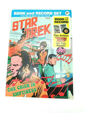"Star Trek ""The Crier in Emptiness"" Book and Record Set PR-26, Power Records 1975"