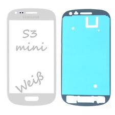 Samsung Galaxy Mini s3 i8190 pantalla LCD cristal touch screen Front blanco + klebfolie