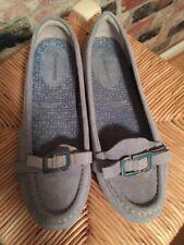 Rockport adiPRENE by Adidas light blue brushed loafers 7 med Washable Footwear