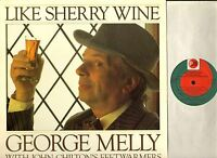GEORGE MELLY WITH JOHN CHILTON'S FEET WARMERS like sherry wine LP EX+/EX N140 uk