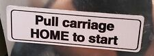 New Hobart Slicer Pull Carriage Home Warning Sticker #3460 Orm-0477733 Decal