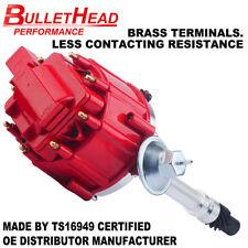 SB 350 Chevy HEI Distributor Red Cap 50K Volt Coil 305 327 383 400 Small Block