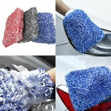 Auto Washer Super Absorbancy Car Sponge Plush Glove Microfiber Cleaning Tools