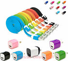 3IN1 NEW Fast Micro USB Charger Home Wall Travel AC Charger & Car For Cell Phone