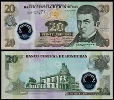 HONDURAS 20 LEMPIRAS (P95) 2008 POLYMER UNC