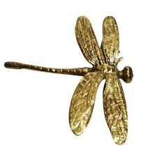 Pure Copper Dragonfly Handles Gold Drawer Cabinet Door Cupboard Pulls Knobs