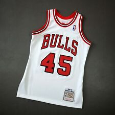 100% Authentic Michael Jordan Mitchell Ness 94 95 Bulls Jersey Size 36 S Mens