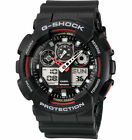 New CASIO Men's G-Shock Watch GA-100-1A4 Black Resin Watch