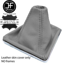 GREY TOP GRAIN REAL LEATHER GEAR GAITER FOR VAUXHALL OPEL ASTRA MK5 H 2004-09