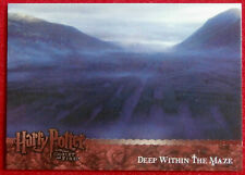 HARRY POTTER AND THE GOBLET OF FIRE - Card #155 - DEEP IN THE MAZE - ARTBOX 2006