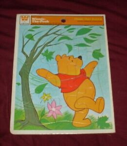 Vintage Whitman Winnie The Pooh Frame Tray Puzzle Complete