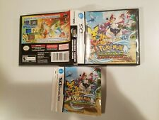 Pokemon: Ranger Guardian Signs (Nintendo DS) Case Artwork and Manual *NO GAME*