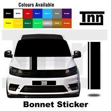 Bonnet Stripe Sticker For VW Volkswagen Caddy Mk 7 6 5 4 3 Sticker Decal Vinyl