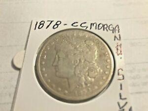 COIN USA 1878-CC,MORGAN $!