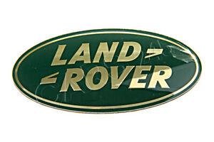 Genuine LAND ROVER Range Rover Green Gold Front Grille Emblem Badge DAG100330
