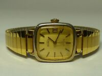 VINTAGE SWISS WATER RESIST DATE AUTOMATIC ERNEST BOREL WOMENS WATCH 1960