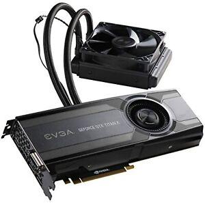 "EVGA GeForce GTX TITAN X 12GB HYBRID ""All in One"" Graphics Card 12G-P4-1999-KR"