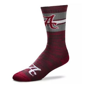 Alabama Crimson Tide Red RMC First String Deuce Crew Socks