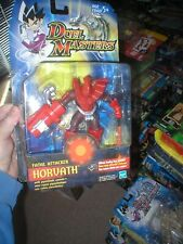 DUEL MASTERS ACTION FIGURE FATAL ATTACKER HORVATH, NEVER OPENED. FROM HASBRO.