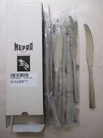 12pc NEW Mepra AZ10391106 Dessert Knife Levantin Ice Free Shipping!