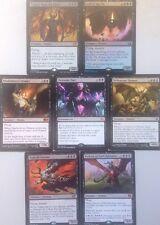 7 MYTHIC BLACK DEMONS, Includes FOIL Mtg Bulk Lot Magic