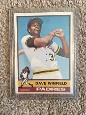 +++ DAVE WINFIELD 1976 TOPPS BASEBALL CARD #160 - SAN DIEGO PADRES +++