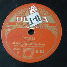 78rpm ALFRED PICCAVER because / until
