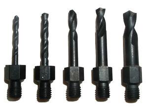 Tight Fit Drill Bit Set Threaded Shank Shorts 00133 - New
