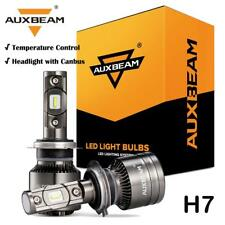 2x AUXBEAM T1 Series H7 Temperature Control 70W LED Headlight Canbus Bulbs 6500K