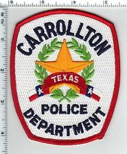 Carrollton Police (Texas) Shoulder Patch from the 1980's