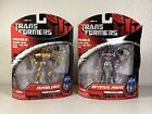 Transformers OPTIMUS PRIME & BUMBLE BEE Action Figure Keychain 2007