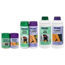 Nikwax Tech NETTOYAGE & TX Direct Pack Jumeau Extérieur Imperméable Protection