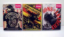 NEW Sealed Sons of Anarchy Season 1 2 3 DVD's SOA Jax Teller Charlie Hunnam Sets
