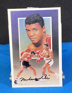 Muhammad Ali SIGNED Autographed Postcard Boxing Boxer