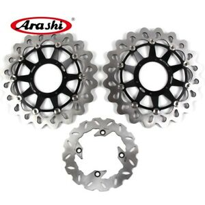 For Honda CBR1000RR 2008 - 2015 2014 2013 2012 2011 Front Rear Brake Disc Rotors