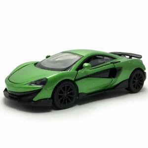 McLaren 600LT Supercar 1:32 Model Car Diecast Gift Toy Vehicle Kids Green Sound