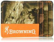BR327 Browning Men's Cody Card Money Clip Wallet Mossy Oak Infinity Camo