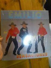 Rare Emilio Navaira & Rio Band Sensaciones Shuffle Near Mint 1990 Vinyl!!!!