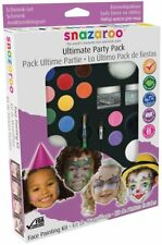 Snazaroo Face Paint Gift Set Make Up Face Painting Kit Ultimate Party