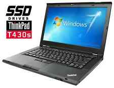 "Lenovo ThinkPad T430s intel Core i5 2.6GHz 14.1"" WEBCAM Laptop 8GB RAM 120GB SSD"