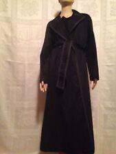 CLASSIC! ESCADA Black Trench Coat Size 36