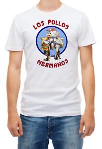 Los Pollos Hermanos Short sleeve Men T Shirt K654