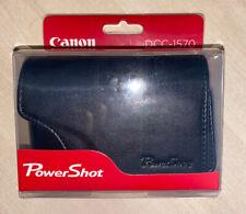 Canon DCC-1570 Powershot Leather Camera Case for SX600 SX610 SX700 SX710 SX720