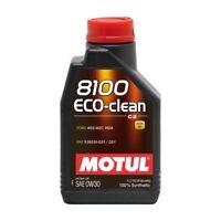 102888 1 lt Motul 8100 Eco-Clean 0W30 Olio Motore 100% Sintetico ACEA C2 API SN