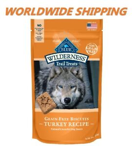 Blue Buffalo Trail Treats Turkey Recipe Dog Snacks 10 Oz WORLDWIDE SHIPPING