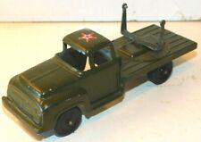 Old TOOTSIETOY of Chicago, Illinois, 1950s Metal, U.S. Army Green AA Gun Truck