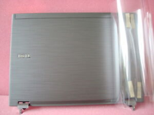 NEW Dell Latitude E6410 LCD Back Cover & Hinges - H61GF WM82H