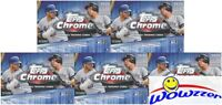 (5) 2020 Topps Chrome Baseball EXCLUSIVE Sealed Blaster Box-SEPIA REFRACTORS