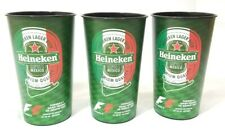 Formula 1 Mexico 2017 Heineken Lager Beer Promo Cups F1 Grand Prix - lot of 3