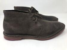 New - $260 COLE HAAN Ogden Stitch Muir Brown Suede Chukka Boot Size 8 M
